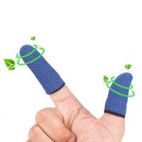 Găng bao ngón điều khiển chơi game màn hình cảm ứng thiết kế thoáng khí chống mồ hôi