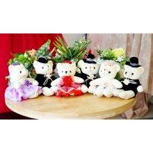 Gấu bông cặp đôi cô dâu chú rể