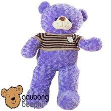 Gấu teddy áo len màu - 35cm, 45cm