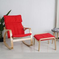 ghế nắm thư giãn - ghế để ban công - ghế tựa lưng thư giãn cho người già (tặng kèm ghế đôn) [bonus]