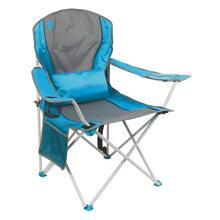 Ghế xếp tay tựa có đệm lưng Coleman Lumbar Quad Chair 2000019207 - Xanh Dương