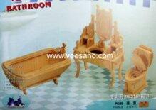 Bộ ghép hình nội thất - Phòng tắm Veesano VB02