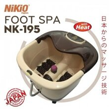Bồn ngâm massage chân Nikio NK-195