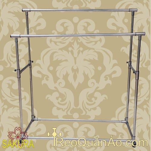 Giá treo quần áo inox GAR-01121 Honey Can Do
