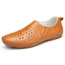 Giày lười nam da thật Olunpo XHT1502