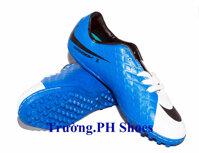 Giày Nike Hypervenom Xanh Trắng
