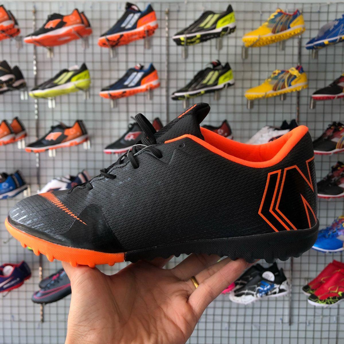 b2c6fcb15a6 Giày Nike Mercurial Vapor 12 (TF) Đen (Fake1)
