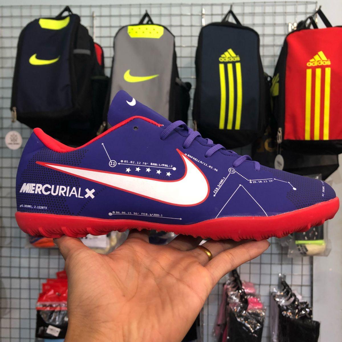 d739f2156bf Giày Nike Mercurial X Neymar (TF) Tím (Fake1)