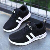 Giày Thể Thao Trẻ Em Bé Trai Bé Gái Giày Teen Giày Chạy Bộ Thời Trang Trẻ Em Giày Sneaker Cổ Giày Lưới Mềm Mại Không chống Trượt