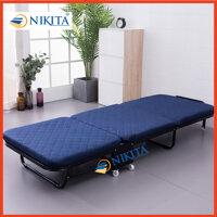 Giường gấp di động - Giường gấp thành ghế sofa - Giường gấp gọn ba khúc GB110 chính hãng Nikita LazadaMall