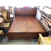 Giường gỗ căm xe dát giường phản liền tấm (1m6 – 1m8 x 2m)