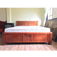 Giường Ngủ – GN04 – Giường Ngủ Gỗ Xoan Đào 1M8