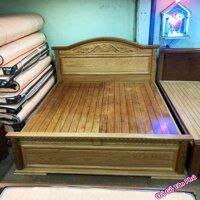 Giường ngủ thông minh gỗ gõ đỏ dát giường phản (1m6 – 1m8*2m)