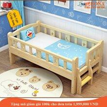 Giường trẻ em ROYAL- BỐ MẸ NẰM KHÔNG GÃY Gỗ thông gia công tỉ mỉ Quây 4 mặt Có cầu thang Các góc cạnh bo tròn cực mịn Dài 200/150/128cm . Cũi giường cho bé yêu giường cũi trẻ emgiường cũi em bé giường cũi gỗ cho bé- HONA SMART