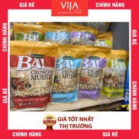 [Gói 300G] Ngũ Cốc Bakalland Muesli 5 Loại Hạt Khô và Mật Ong