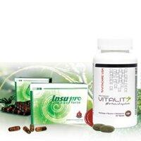 Gói hỗ trợ điều trị tiểu đường hiệu quả Vitality89 + InsuPro