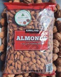 Hạt hạnh nhân cao cấp KIRKLAND (Almonds) túi 136g