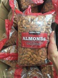 Hạt Hạnh Nhân không muối Kirkland 1.36kg Mỹ