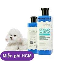 HCM-Sữa Tắm SOS xanh dương - 530ml - cho chó mèo lông trắng ( 366c)-HP10781TC