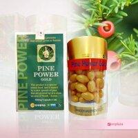 Thực phẩm bổ sung: Pine Power Gold – Tinh dầu thông đỏ hàng chính hãng hàn quốc.