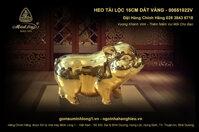 Heo Tai Loc 15cm dat vang - 00551022V