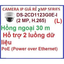 Camera IP Hikvision DS-2CD1123G0E-I(L)