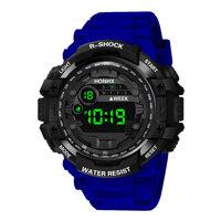 HONHX 53-66F Men Luminous Display Alarm Clock Digital Watch