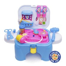 Hộp đồ chơi bác sĩ ghế ngồi 2 trong 1 cho bé