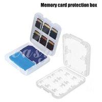 Hộp đựng thẻ nhớ trong suốt dễ dàng mang theo