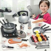[Hot] bộ đồ chơi nấu ăn kitchen play set 36 món - hàng nhập khẩu an toàn cho bé