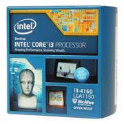 Intel Core i3-4160 (3.60GHz, 3MB L3 Cache, socket 1150, 5GT/s DMI)