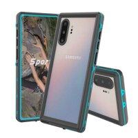 IP68 Không Thấm Nước Ốp Lưng Điện Thoại Samsung Galaxy Note 10 Plus 9 8 10 Chống Nước Full Bảo Vệ Lặn Dành Cho Samsung S9 s10 Plus