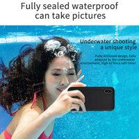 IP68 Thực Túi Chống Nước Điện Thoại Dành Cho iPhone X 7 8 Plus 6 6S 6S Plus IPhone11 Max Pro Bảo Vệ Đầy Đủ bao Da Dưới Nước Cho iPhone X XR XS Max Ốp Lưng