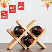 Kệ Gỗ Để Rượu Vang/Giá Để Chai Rượu Vang Bàn Ăn+Phòng Bếp+[Sỉ Lẻ Toàn Quốc]+[Sale Toàn Quốc]+Trọng Lượng Nhẹ+Dễ Tháo Lắp