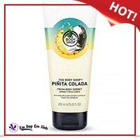 Kem dưỡng thể THE BODY SHOP Pinita Colada Body Sorbet 200ml