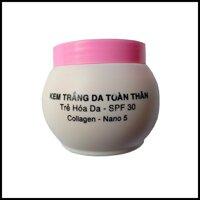 Kem dưỡng trắng da toàn thân Bạch Sâm BS7 250g (Trắng - Hồng)