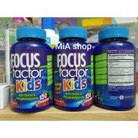 Kẹo bổ não cho bé Focus Factor Kids 150v