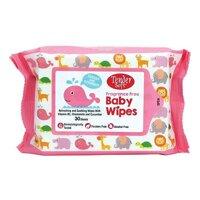 Khăn Giấy Ướt Cho Bé Tender Soft Baby Wipes Không Mùi - 30 tờ