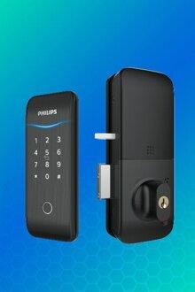 Khóa cửa vân tay Philips 5100-5HBKS