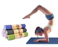 Kích thước thảm yoga Thảm tập yoga nike Thảm tập yoga HD-01 chất liệu xốp cao su tổng hợp siêu mềm chống thấm nước chống trơn trượt cực tốt