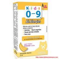 Kids 0-9 All Allergies