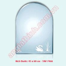 Gương bỉ TAV 746A (45x60)