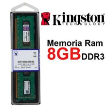 RAM Kingston KVR1333D3N9/8G, 8GB Kit (4x2GB), DDR3, Bus 1333MHz
