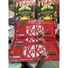 Bánh sô cô la KitKat Nestlé gói 17g