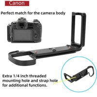 L-Kim Loại Hình Nhanh Chóng Phát Hành Đĩa Giá Đỡ Tay Cầm cho Canon EOS-R Máy Ảnh Không Gương Lật