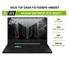 Laptop Asus TUF Dash F15 FX516PE-HN005T - Intel Core i7-11370H, 8Gb RAM, SSD 512GB, Nvidia GeForce  RTX 3050Ti 4GB + Intel Iris Xe Graphics, 15.6 inch