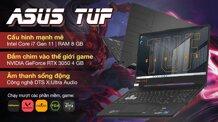 Laptop Asus TUF Gaming F15 FX506HC-HN001T - Intel Core i7-11800H, 8GB RAM, SSD 512GB, Nvidia GeForce RTX 3050 4GB GDDR6, 15.6 inch