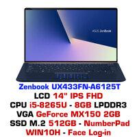 Laptop Asus ZenBook UX433FN A6125T