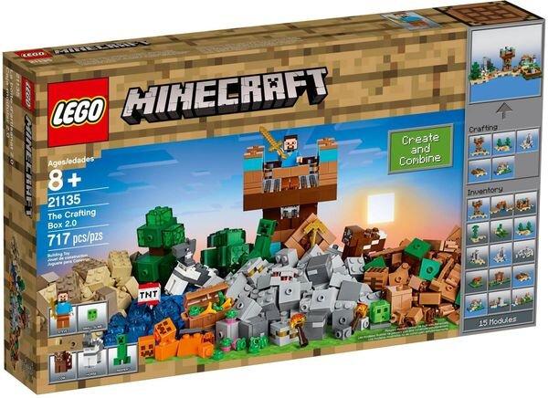 Đồ chơi crafting Box 2.0 Lego Minecraft 21135 (717 chi tiết)