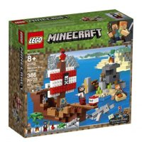 LEGO Minecraft 21152 The Pirate Ship Adventure – Thuyền hải tặc